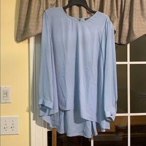 Dressy blue tunic